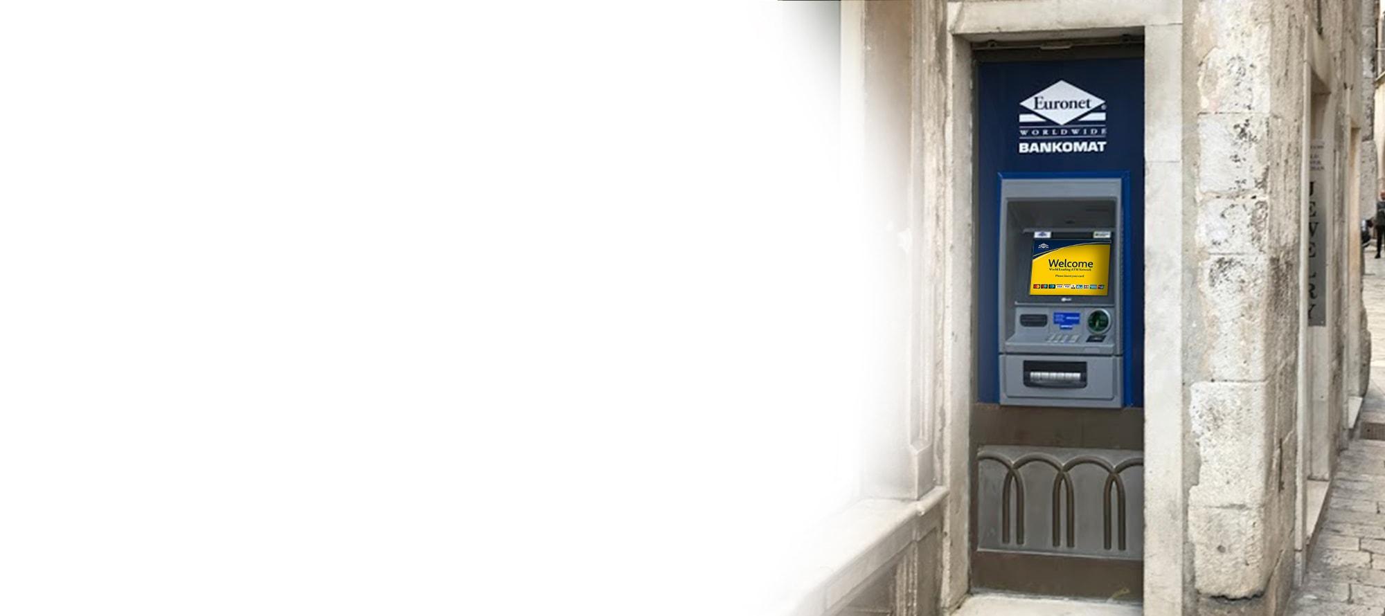 Mi ćemo upravljati bankomatom i održavati ga za Vas, osiguravajući visoku razinu usluge za Vaše kupce.