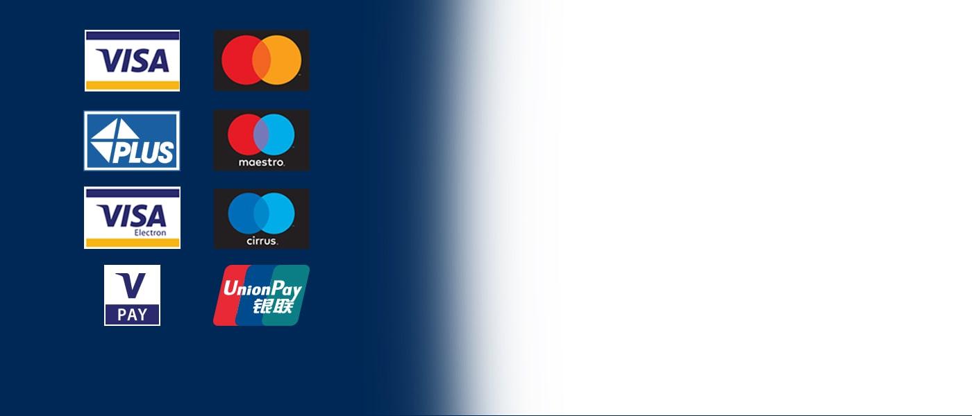 Euronet bankomati prihvaćaju sve glavne kartice
