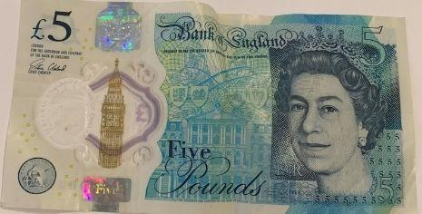 Britanska funta 1